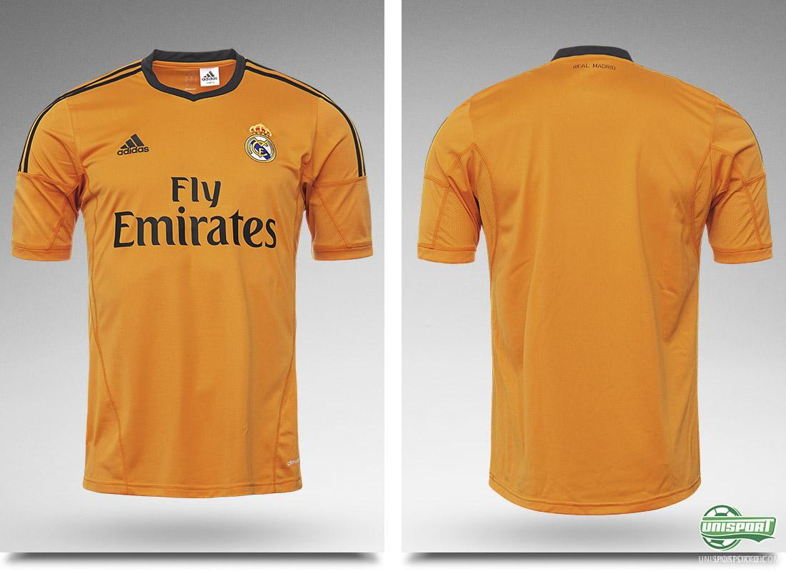 real madrid launch their new orange third shirt. Black Bedroom Furniture Sets. Home Design Ideas