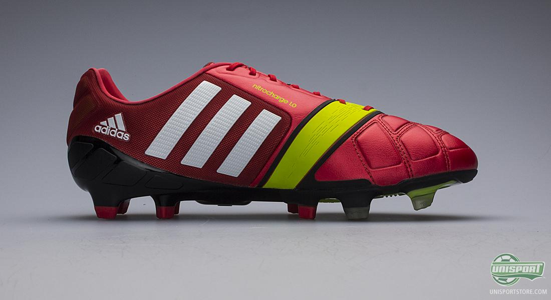 adidas Mens Nitrocharge 1.0 Firm Ground Football Boots Football Store Shop Football Store COLOUR-black/red