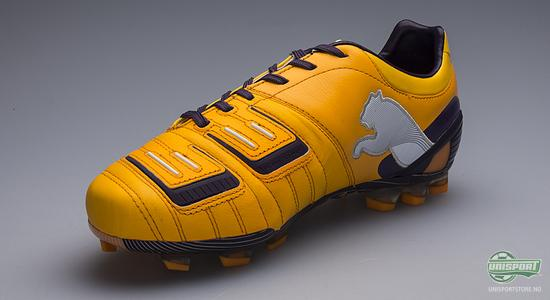 puma, powercat, power cat, power, cat, fotball, fotballsko, oransje lilla, unisportstore, unisport