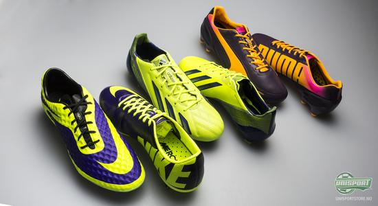 fotballsko, nike, adidas, puma, hi-vis, høst, høstfarger, fotball, unisport, unisportstore