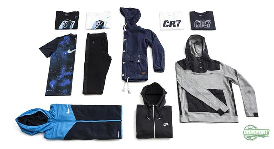 nike, mercurial, vapor, cr7, galaxy, genser, treningsbukse, jakke, klær, cristiano ronaldo, unisport, unisportstore