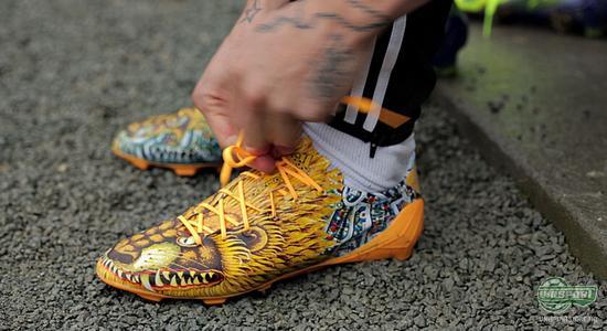 adidas, f50, adizero, yamamoto, løve, design, gul, japan, nicki bille, rodenborg, fotballsko, fotball, unisport, unisportstore