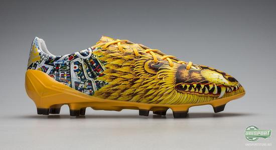 adidas, f50, adizero, yamamoto, bale, løve, japan, gul, fotballsko, fotball, unisport, unisportstore