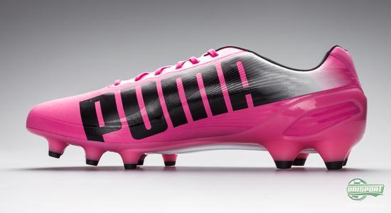 puma, evospeed, speed, rosa, fotball, fotballsko, unisport, unisportstore