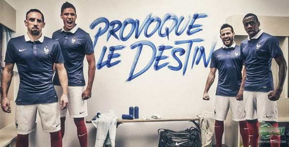France present new national shirt ready for World Cup