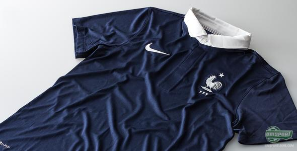 We take a closer look at the new France national shirt ready for the World Cup