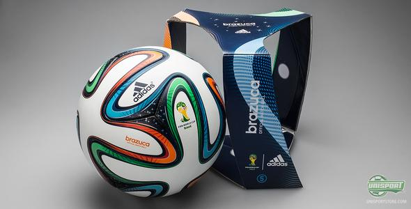 We welcome the Adidas Brazuca: The World Cup ball has landed