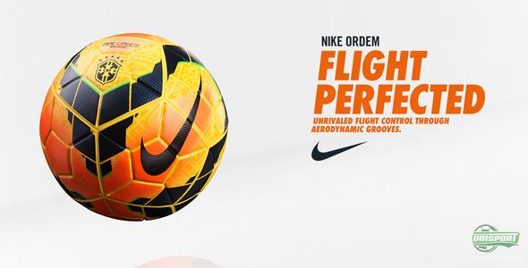 New Nike Ordem football - when only the best is good enough