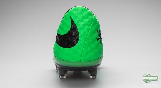 nike, hypervenom, nike hypervenom, fotballsko, grønn, fotball, sort, grønn sort, unisport, unisportstore