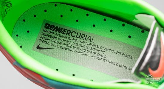 nike, mercurial, grønn, vapor, ny mercurial, lyseblå, lysegrønn, fotballsko, unisport, unisportstore