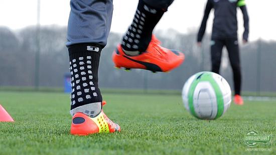 puma, evopower, fotballsko, fotball, puma fotballsko, rød, oransje, unisport, unisportstore