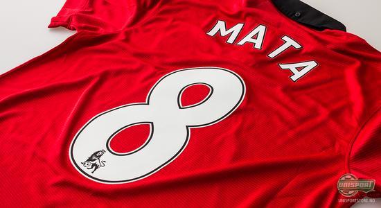 nike, manchester, united, manchester united, drakt, fotballdrakt, juan mata, mata, juan, 8, nummer 8, fotball, unisport, unisportstore