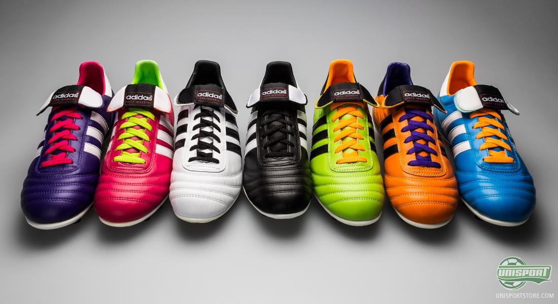 The Adidas Copa Mundial football is in all seven colourways made of  sensational kangaroo leather 39e72df8b