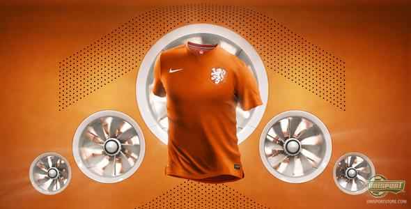 It's finally here: Nike reveal the Dutch World Cup home shirt