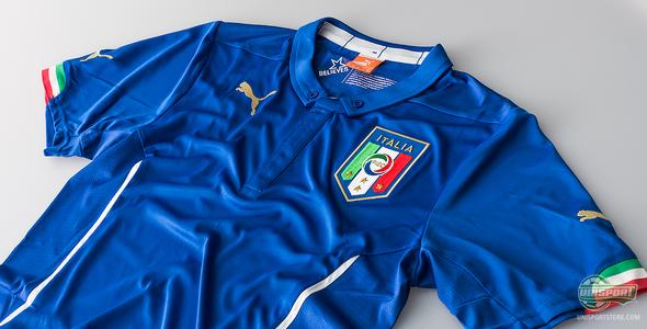 Puma present new Italian World Cup shirts