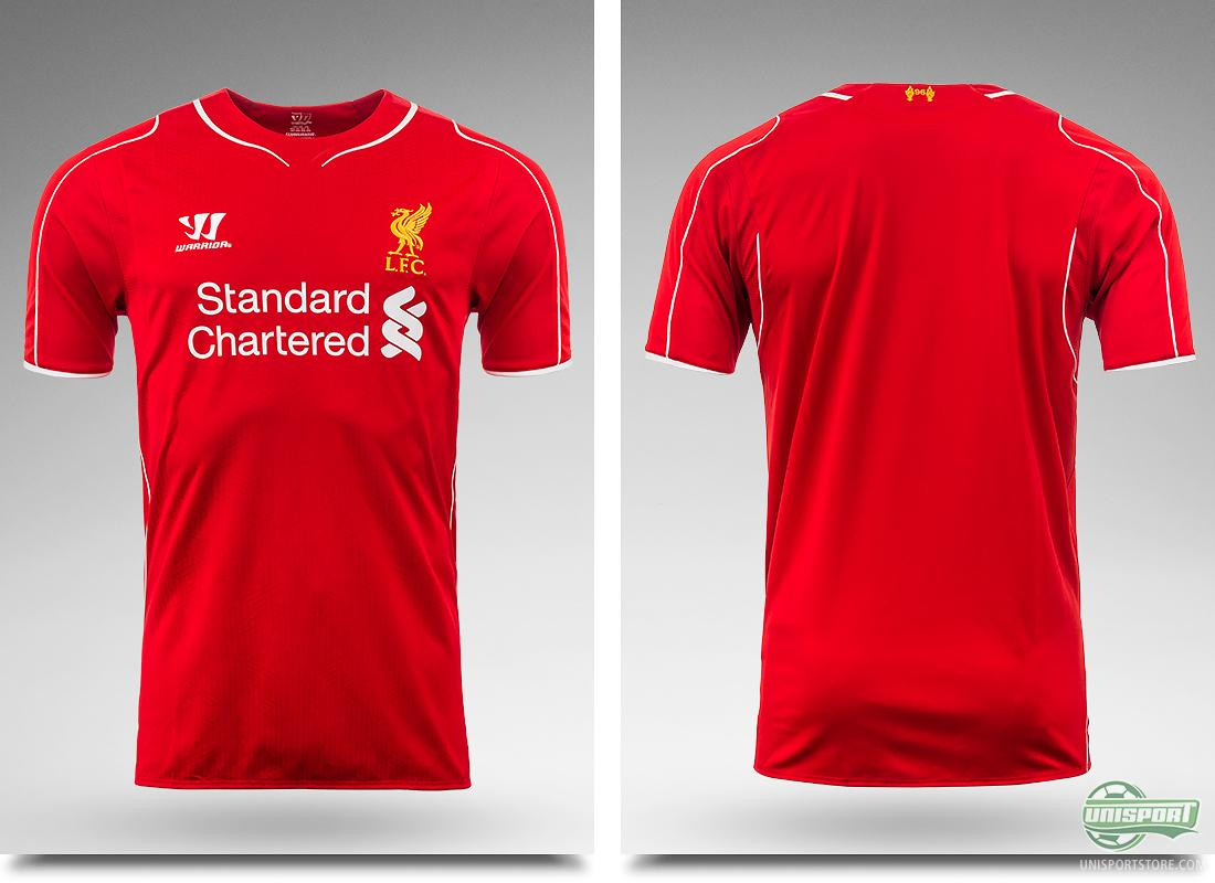 Warrior Deliver The New Liverpool Home Shirts In A Big Container
