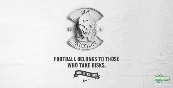 Nike Risk Everything - ready to risk everything at the World Cup