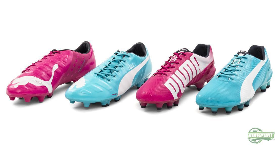 Puma Roze En Blauwe Schoen