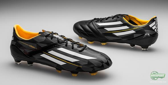 Adidas F50 Adizero in an alternative black/yellow colourway
