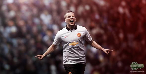 Nike bring the style with Manchester United's new away-shirt