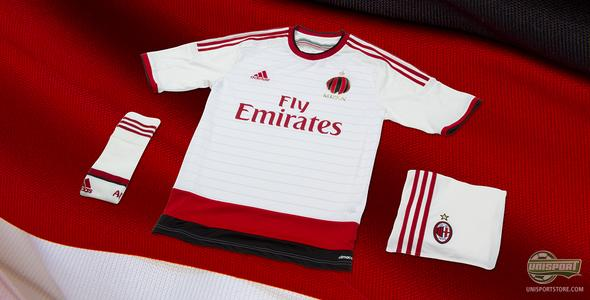 Adidas build on traditions with AC Milan's new away-shirt