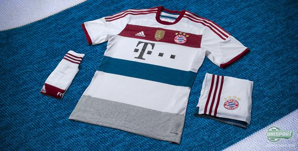 Bayern Munich away shirt: A study in fashionable design