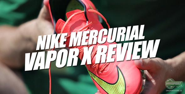 Nike Mercurial Vapor X recension