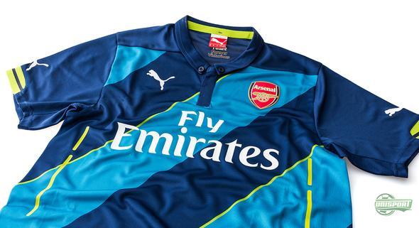 Arsenals 3. trøje ligger nu også officielt på hylderne