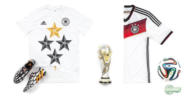 Adidas hylder Tysklands VM triumf med særlig t-shirt