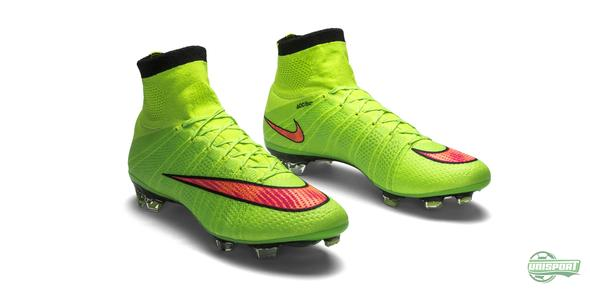 Nike make explosive speed green with the Mercurial Superfly IV