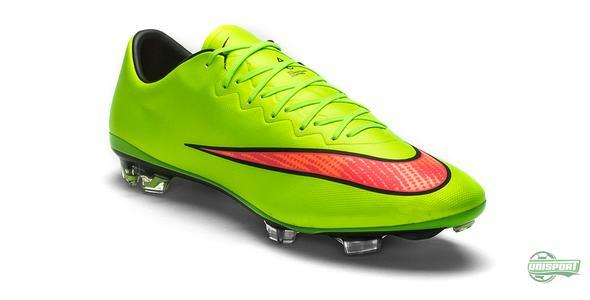 Även Nike Mercurial Vapor X klär i limegrönt