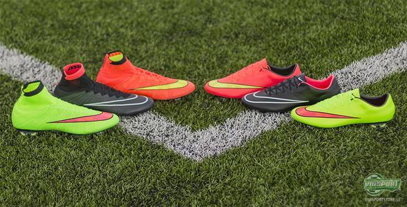 Explosiv fart med Nike Mercurial i tre olika färger