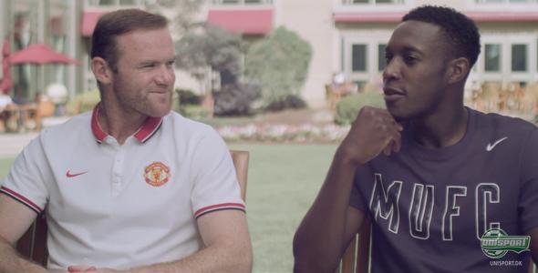 Manchester United Q&A med Rooney og Welbeck