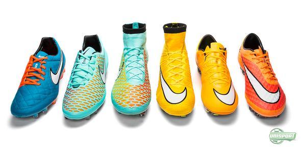 Nikes senaste kollektion - färgerna är tillbaka