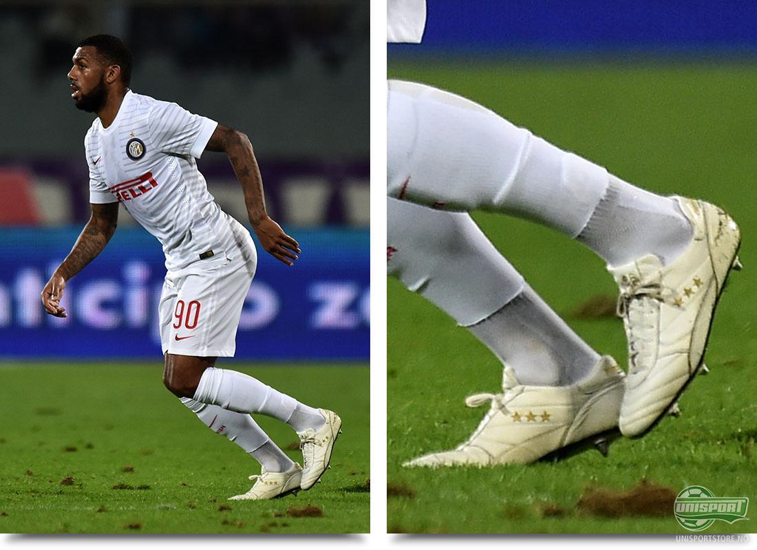 M'Vila har i starten av sesongen ellers opptrådt i Nikes Hypervenom og  Magista Opus, men ...