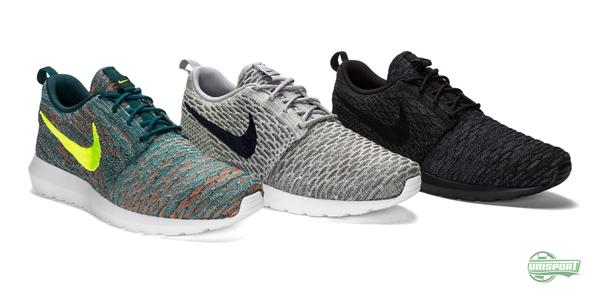 Express your football style with the new Nike Roshe Run Flyknit