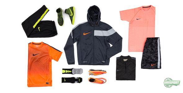 Træn som Neymar og Hazard med Nikes træningstøj
