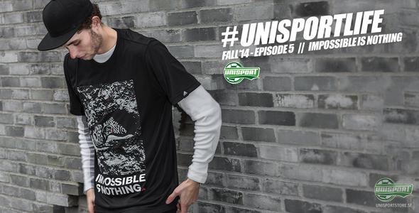 Unisport look of: Impossible is nothing