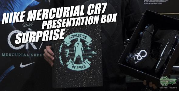 Unisport WebTV: We surprise a CR7-fan with a unique Nike Mercurial-box