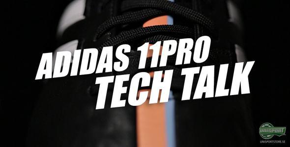 Unisport WebTV: adidas 11Pro Tech Talk