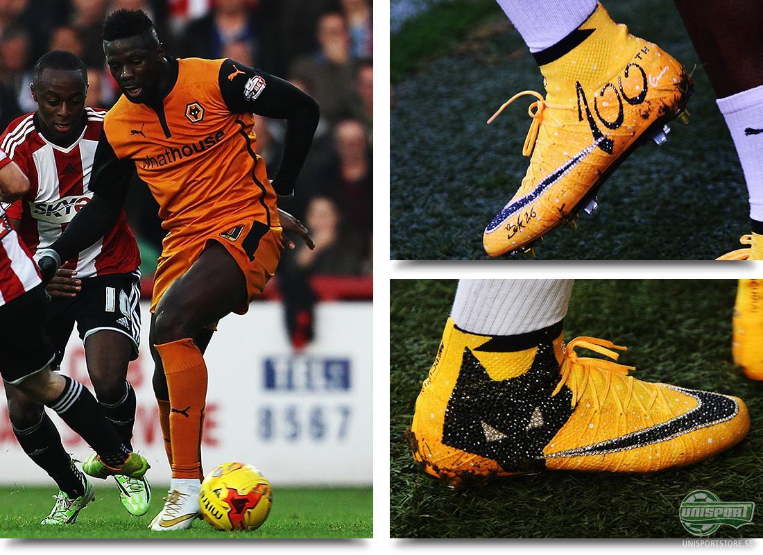 ff1cb66fe Bakary Sako (Wolverhampton) - Nike Mercurial Superfly (Custom) En annan  spelare som gillar personaliserade fotbollsskor är Bakary Sako från  Wolverhampton.