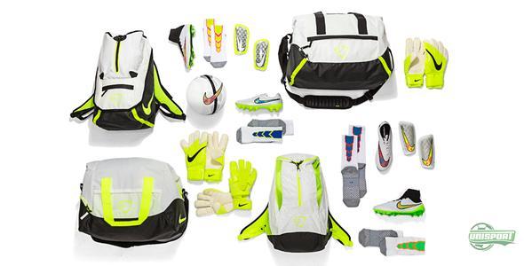 Nike skinner banerne op med fodboldudstyr i Shine Through design
