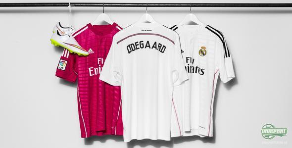 Inget nummer på Martin Ödegaards Real Madrid-tröja