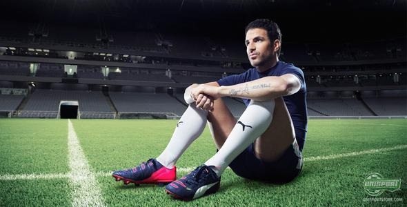 Q&A with Cesc Fabregas about the PUMA evoPOWER 1.2
