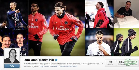 Svenska fotbollsstjärnorna som är störst på Instagram