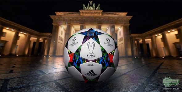 Här är den nya matchbollen till Champions League
