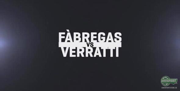Fabregas och Verratti öga mot öga
