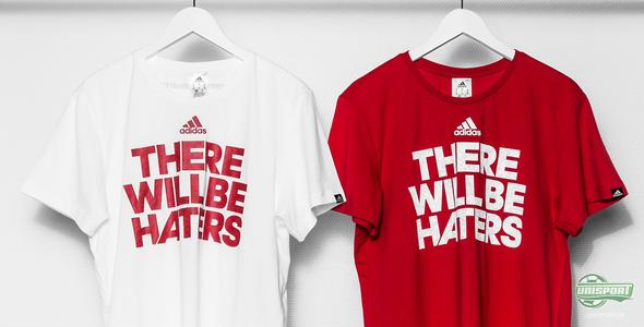 Se de nyeste There will be haters T-shirts fra adidas