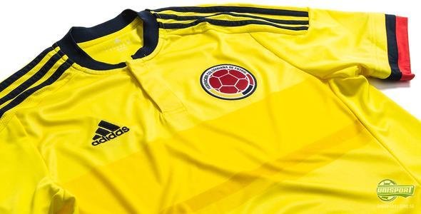 Colombia redo för Copa America med ny landslagströja