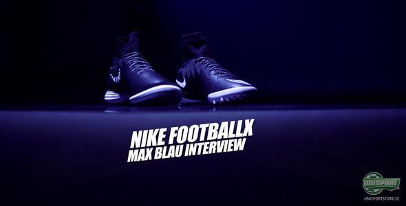 Unisport WebTV: Joltter pratar med Max Blau om FootballX